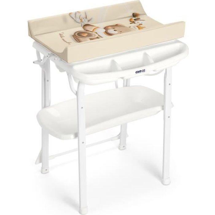 CAM - Table à langer AQUA SPA - 240 Teddy avec couronne