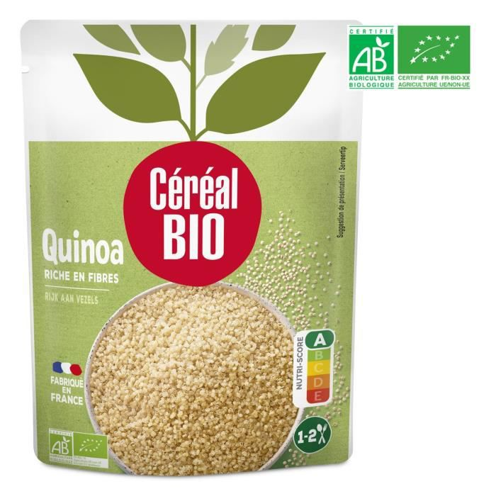Quinoa au naturel 220 g Cereal Bio