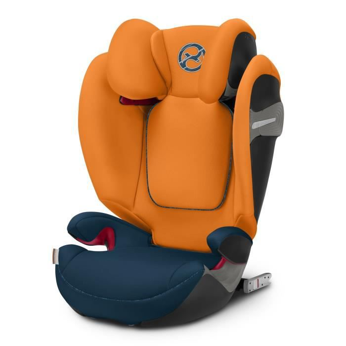 CYBEX Siège auto Gold Solution S-Fix Tropical - Bleu