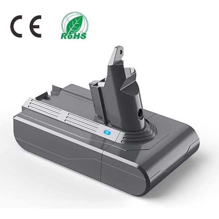 LENKENG 21.6V 3.5Ah Batterie Pour Dyson SV03 SV05 SV06 SV07 SV09 V6 DC58 DC59 DC61 DC62