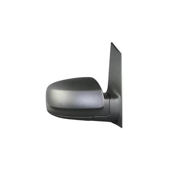 Rétroviseur droit électrique MERCEDES VITO II phase 2 (W639) 2010-2014, dégivrant, asphérique, noir.