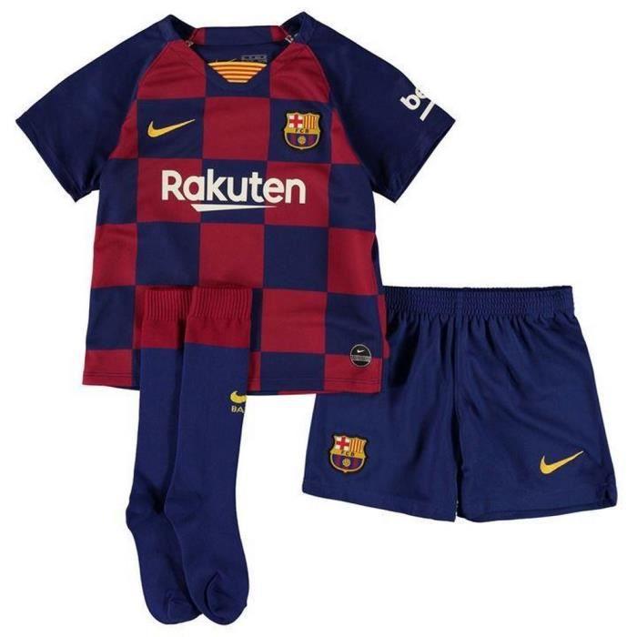 Nouveau Mini-Kit Officiel Enfant Nike FC Barcelone Domicile Saison 2019-2020