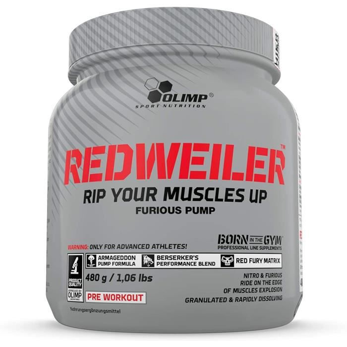RedWeiller 480g Olimp Nutrition RED PUNCH