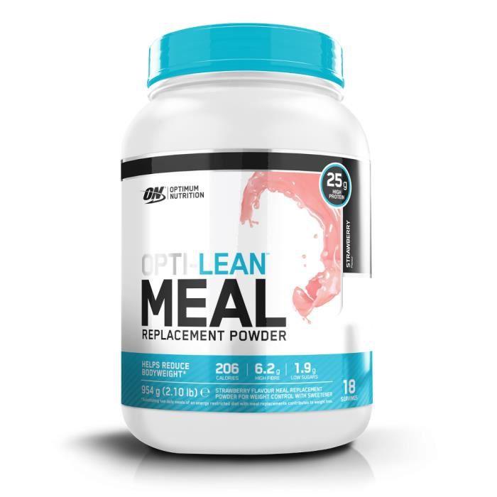 OPTIMUM NUTRITION Pot Meal Replacement Fraise - 954 gr