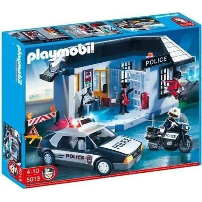 Playmobil 5013 Commissariat et véhicule de police