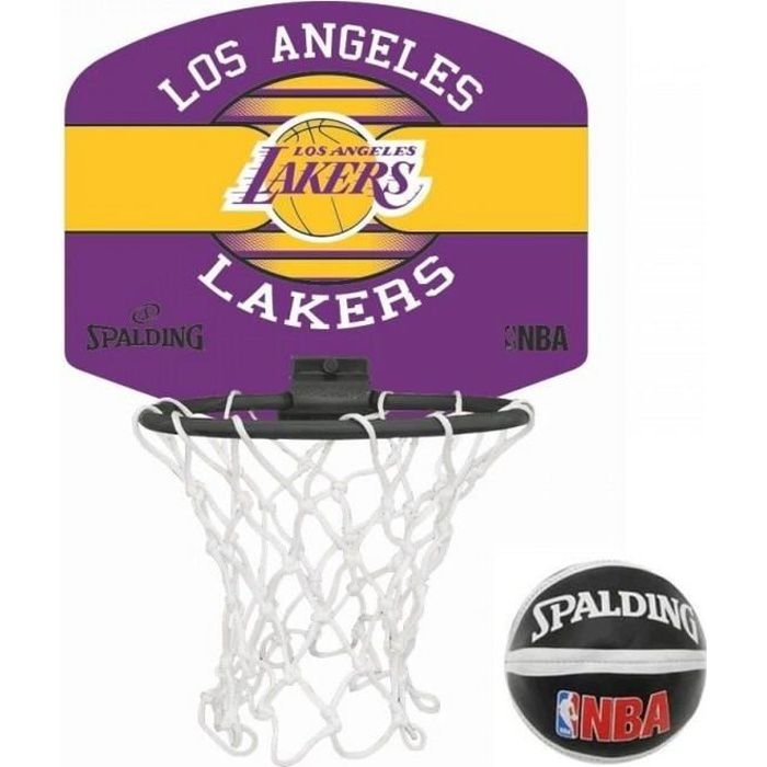 SPALDING Panier de basket-ball NBA LA Lakers
