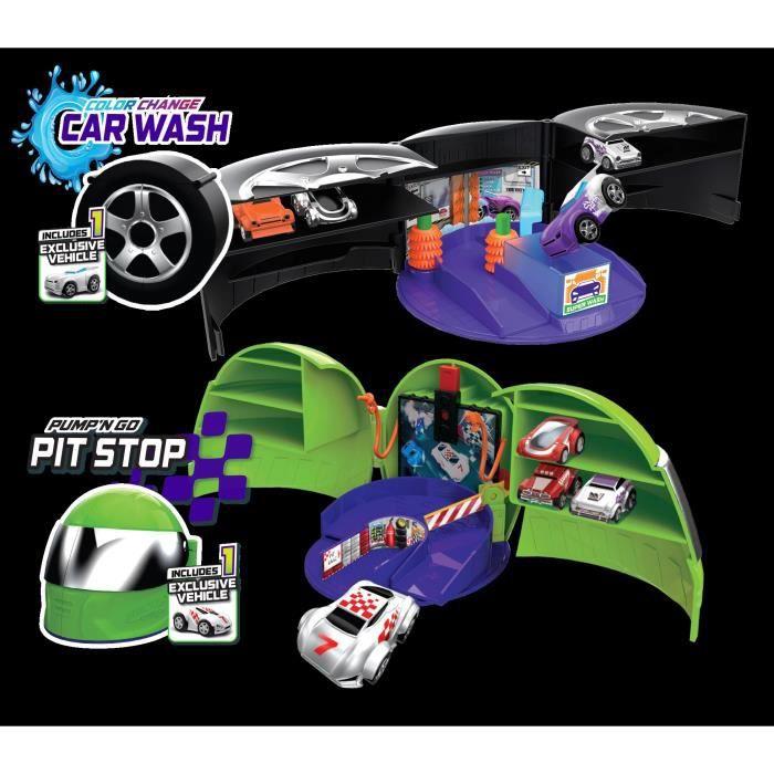 SPLASH-TOYS Micro voiture Wheels playset asst - Pour faire la course