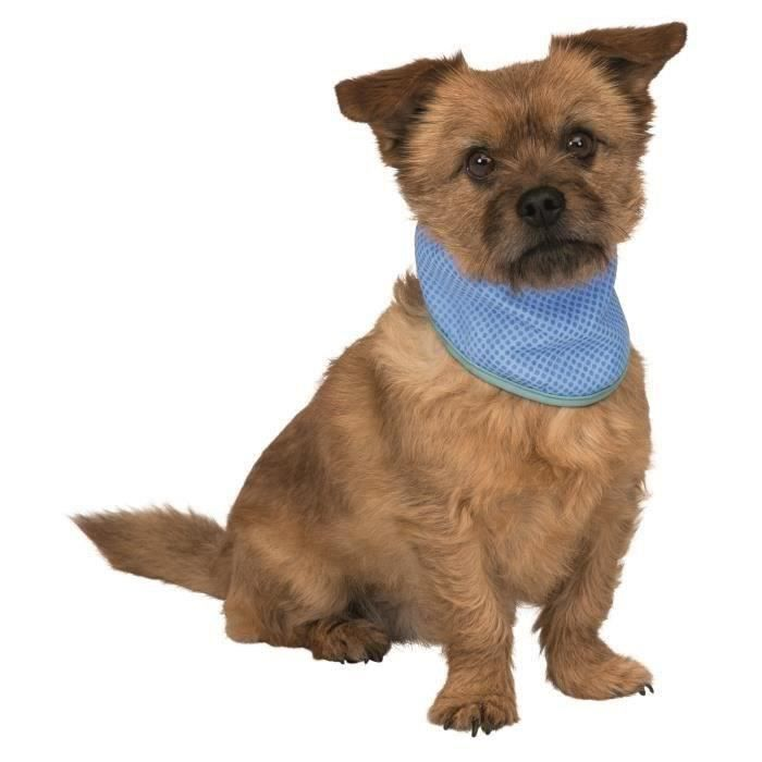 TRIXIE Bandana rafraîchissant PVA - M : 28–40 cm - Pour chien