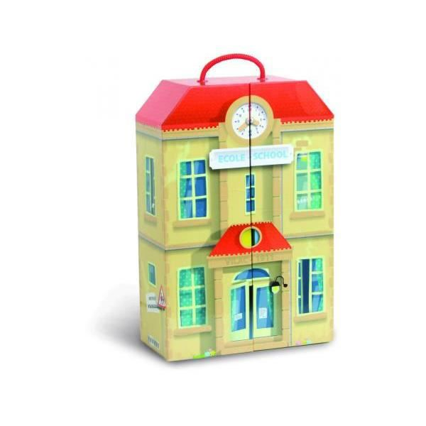 Vilac - 6313 - La petite école en valise
