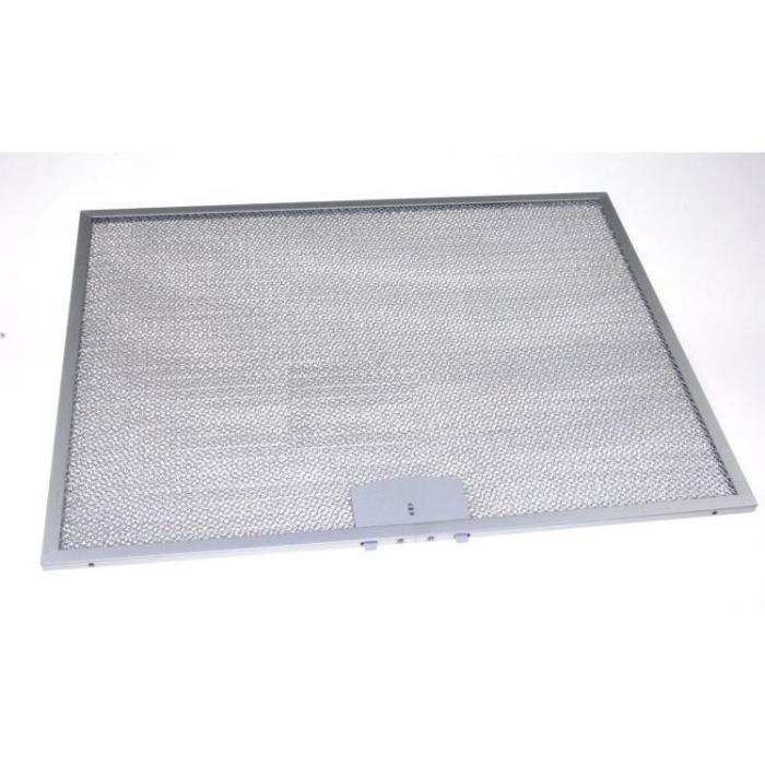 Filtre antigraisse métallique pour hotte Hotpoint-Ariston 482000031201