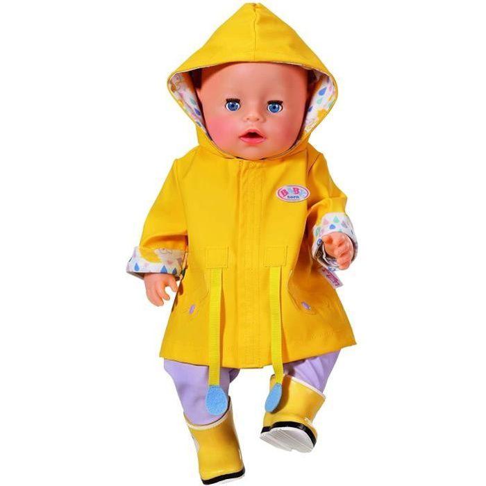 BABY Born Ensemble de pluie 5 pièces pour poupée de 43cm