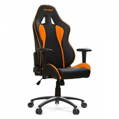 si ge nitro gaming chair orange prix pas cher cdiscount. Black Bedroom Furniture Sets. Home Design Ideas
