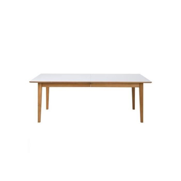Table a manger extensible calargo 220 400 cm chene achat vente table a ma - Vente table a manger ...