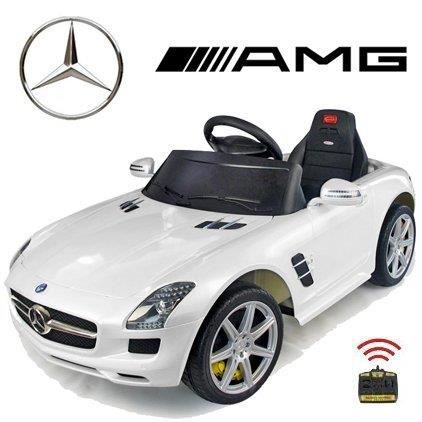 voiture electrique radiocommande enfant mercedes amg blanc achat vente voiture voiture. Black Bedroom Furniture Sets. Home Design Ideas
