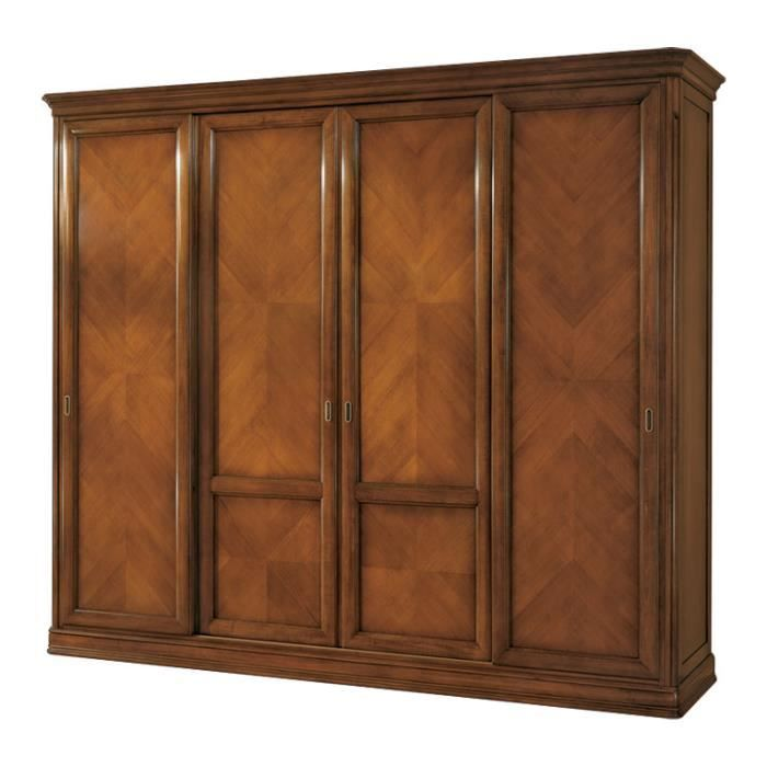 armoire 4 portes coulissantes achat vente armoire de chambre armoire 4 portes coulissantes. Black Bedroom Furniture Sets. Home Design Ideas