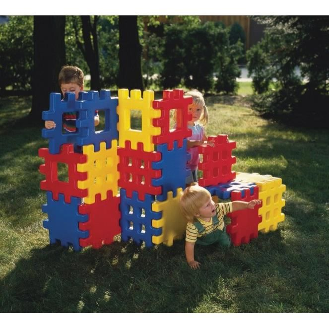 Little tikes big blocks gaufre achat vente toboggan - Maison de jardin little tikes colombes ...