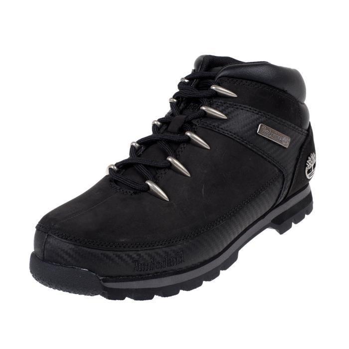 Chaussures montantes Euro sprint noir carbon