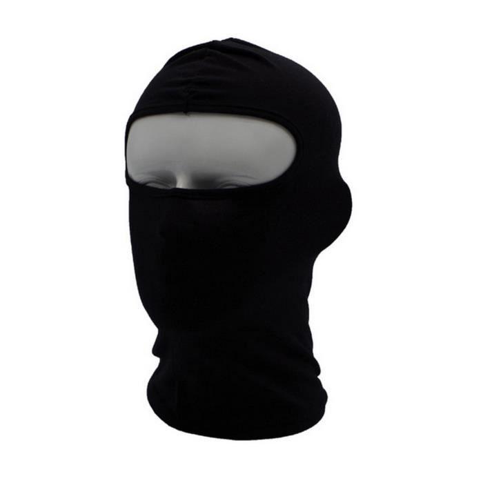 masque d'hiver semi-facial