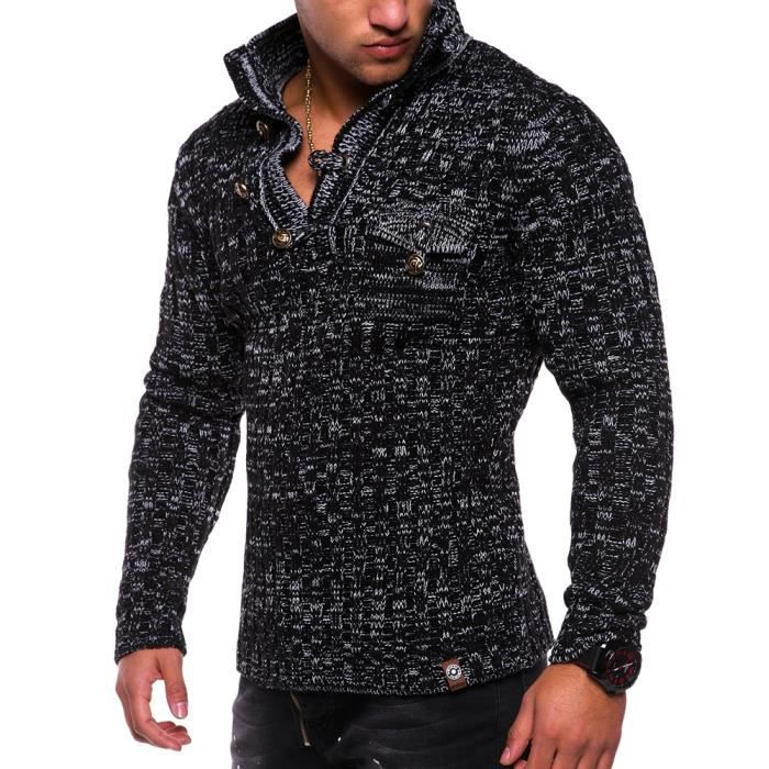 74ce122130088 Pull homme tres chaud - Achat   Vente pas cher
