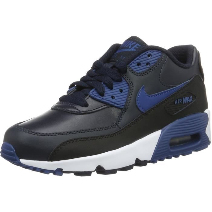 Nike Big Kids Air Max 90 Leather Running Shoes YYA39 Fd1maa1