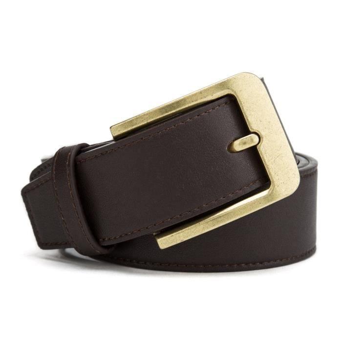 Ceinture de ceinture 2 hommes d/'affaires ceinture sans boucle ceintures de