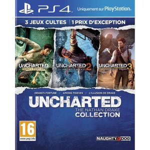 JEU PS4 Uncharted : The Nathan Drake Collection