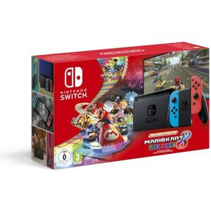 CONSOLE NINTENDO SWITCH Pack Console Nintendo Switch Néons + Mario Kart 8
