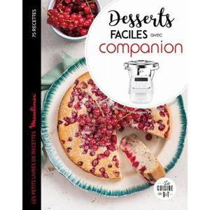 LIVRE CUISINE AUTREMENT Desserts faciles avec Companion