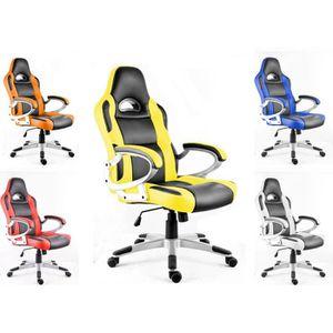 SIÈGE GAMING POLIRONESHOP MONZA Chaise de bureau fauteuil siége
