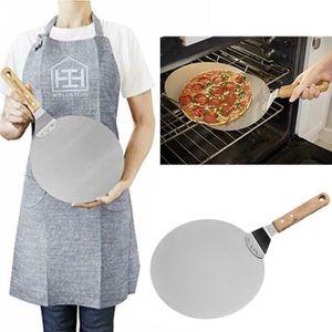 COUPE PIZZA Palette à pizza, lame en acier inoxydable de 10 po