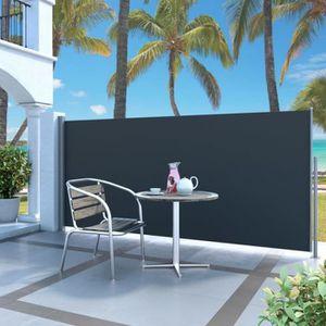 STORE - STORE BANNE  Auvent latéral rétractable 140 x 300 cm Noir - DM4