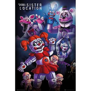 Poster Five Nights At Freddy S Sister Location Achat