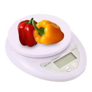 BALANCE ÉLECTRONIQUE 5KG Mini Balance électronique de cuisine Haute pré