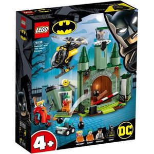 ASSEMBLAGE CONSTRUCTION LEGO® 4+ DC Comics Super Heroes 76138 Batman™ et l