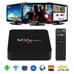 BOX MULTIMEDIA MXQ Pro Android 5.1 Smart TV Box XBMC 3D 4K Amlogi