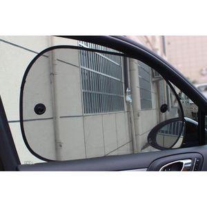 le pare-soleil Rideaux pare-soleil de voiture isolation thermique bloque les rayons UV nocifs pour les fen/êtres lat/érales 2 pi/èces occultants noir les rideaux en tissu