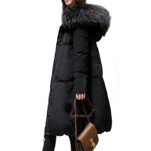 DOUDOUNE NBF™ Femme Manteau d'hiver Doudoune Capuche Fourru