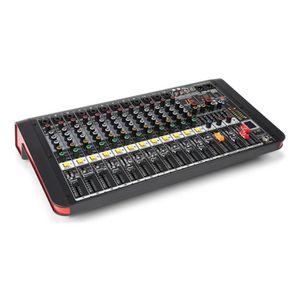TABLE DE MIXAGE Power Dynamics PDM-M1204A Mixer DJ avec lecteur US