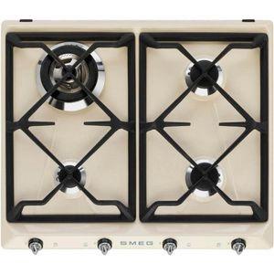 PLAQUE GAZ Table de cuisson SR964PGH - Smeg