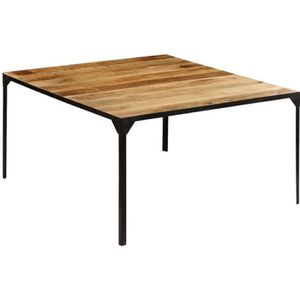 TABLE À MANGER SEULE vidaXL Table de salle à manger 140x140x76 cm Bois