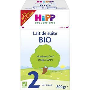 LAIT BÉBÉ HIPP BIOLOGIQUE Lait de suite en poudre 2ème âge -