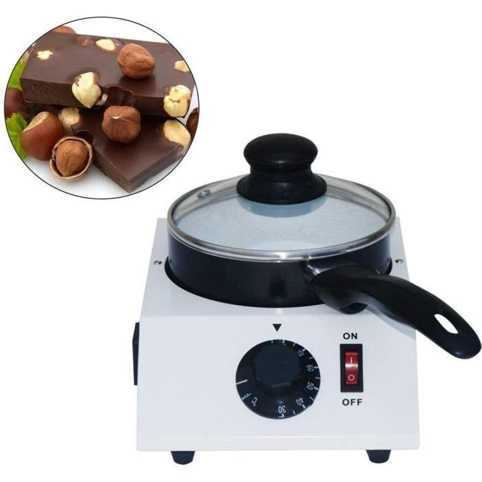 Machine à fondre au chocolat électrique Machine à faire fondre le chocolat avec pot en céramique