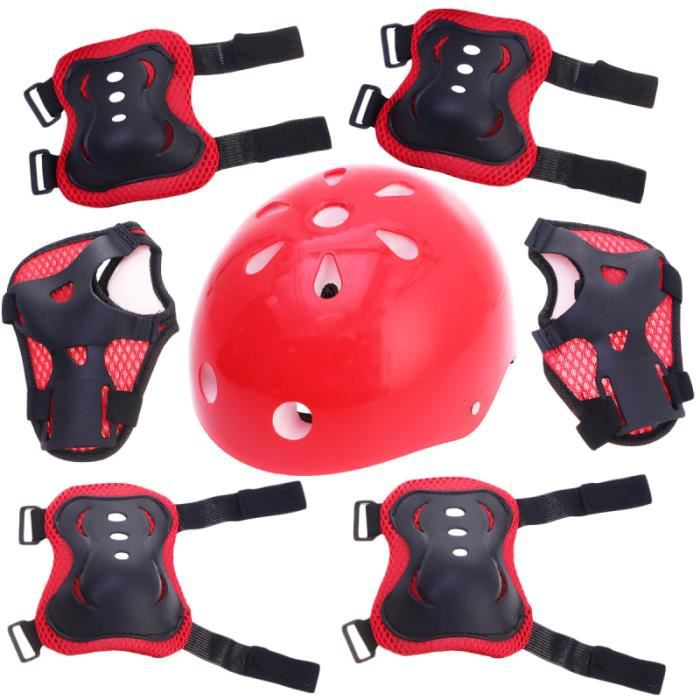 1 set équipement de protection vélo planche à roulettes accessoire de plein air TAPIS DE SOL - TAPIS DE GYM - TAPIS DE YOGA