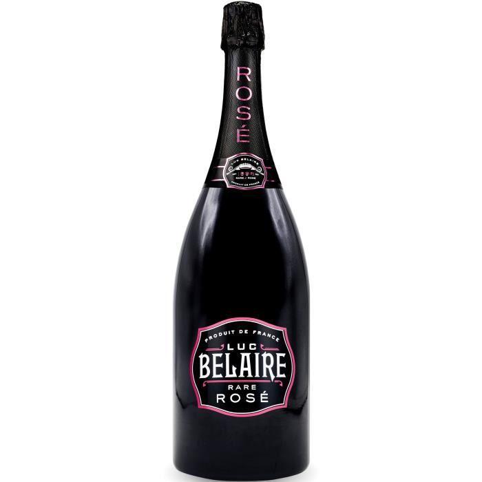 Luc Belaire - Vin effervescent Rosé - Magnum 1,5 L
