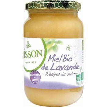 Bisson Miel de Lavande onctueux et fruite bio 500g