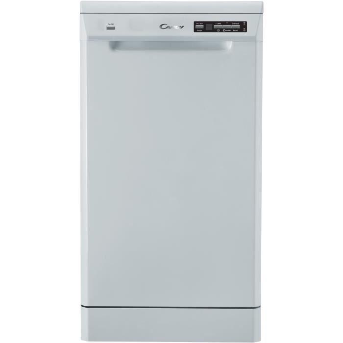 Lave Vaisselle CANDY CDP2D11453W - Posable - 45 cm Largeur - 11 couverts - A + - 45 db - Blanc