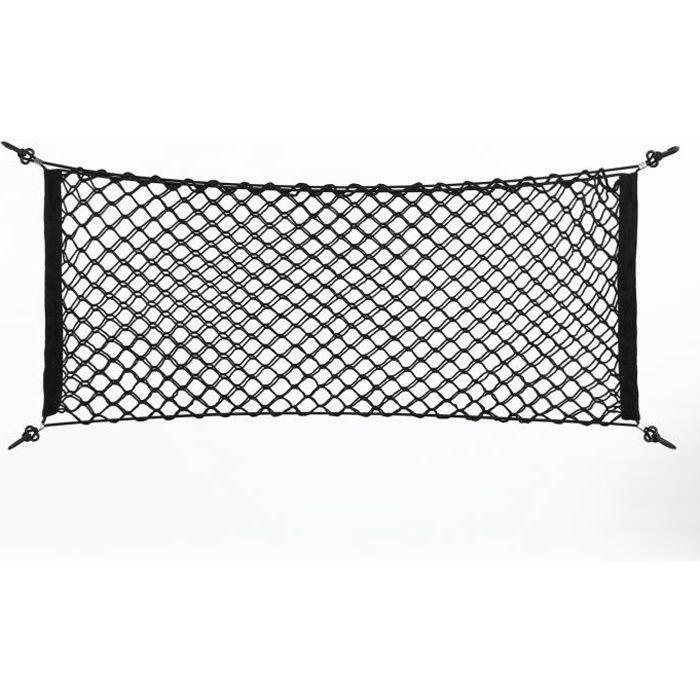 100*40cm Filet Rangement Coffre Voiture avec Crochets -RAI