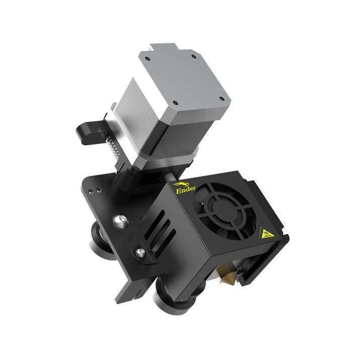 Kit de machanisme d'extrusion directe entièrement assemblé d'origine Creality 3D Ender-3 avec buse de 0,4 mm Moteur pas à pas de p