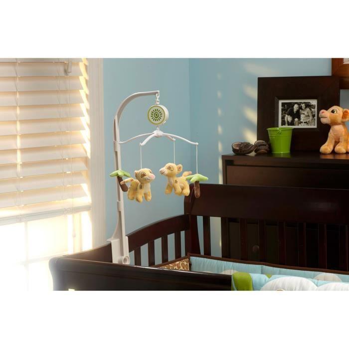 Garniture Berceau DISNEY CRJVB Lion King Musical Mobile