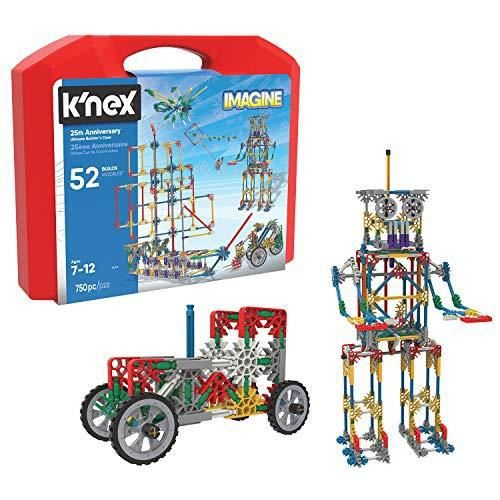 Knex K`Nex - Imagine 25th Anniversary Ultimatebuilders Case Building Kit, Varies by Model